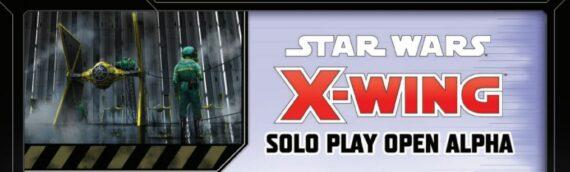 Fantasy Flight Games – Xwing: Une version pour jouer en solo en développement