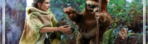 HOT TOYS : La version définitive du Pack Leïa et Wicket