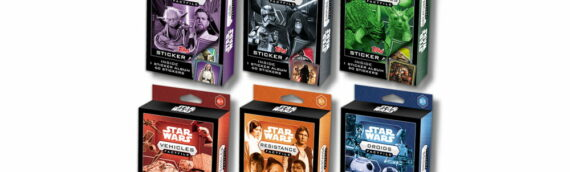 Topps : Une nouvelle colllection de stickers Fact File Star Wars