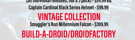 Rumeur – Disney va commercialiser des produits Star Wars Galaxy Edge chez Target