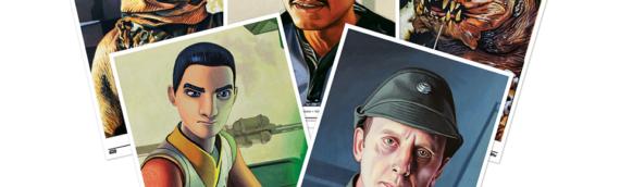 Topps Star Wars Living Set : Les 5 nouveaux Artprint de cette semaine