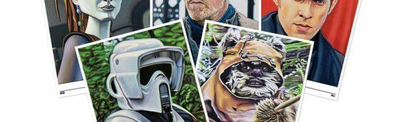 Topps – Star wars living set : Les 5 nouveaux Artprints de la semaine