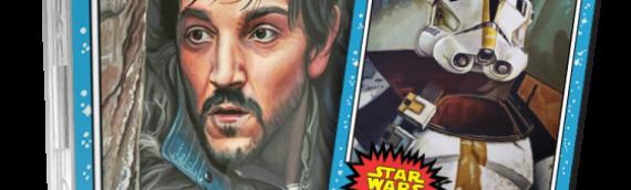 Topps Star Wars Living Set : la 107 et 108ème carte de la série