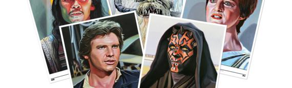 Topps Star Wars Living Set : Les 5 nouveaux artprints