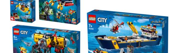 LEGO dévoile son partenariat avec National Geographic