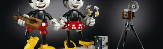 LEGO 43179 – Mickey Mouse & Minnie Mouse Buildable Characters