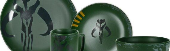 """Toynk : Un set de vaisselle """"Boba Fett"""" bientôt disponible en précommande"""