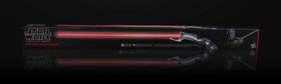 HASBRO – Les packaging des sabres laser FX de cet été se dévoilent