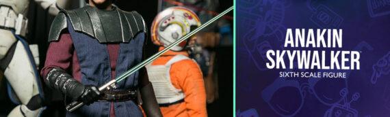 HOT TOYS – Anakin Skywalker The Clone Wars Sixth Scale Figure