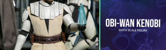 HOT TOYS – General Obi-Wan Kenobi The Clone Wars Sixth Scale Figure