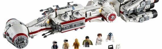 LEGO – La fin de la commercialisation d'une vingtaine de sets LEGO Star Wars