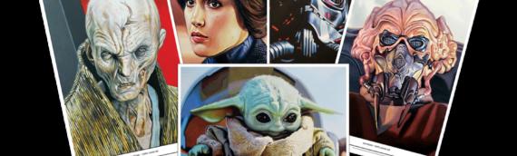 Topps Star wars Living Set: Les 5 nouveaux Artrpints de la semaine