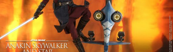 Hot Toys : Anakin and the STAP set
