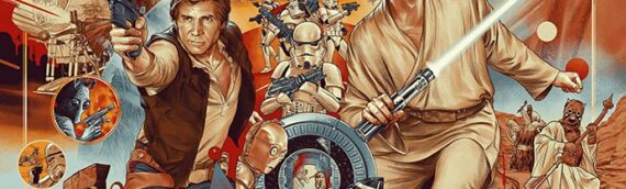 """MONDO – """"The Ways Of The Force"""" Artprint by Martin Ansin"""
