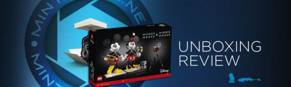 [Mintinbox Open the Box] LEGO 43179 Mickey Mouse & Minnie Mouse Buildable Characters