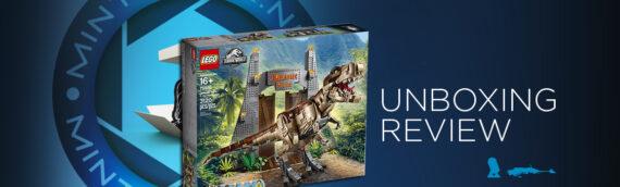 [Mintinbox Open the Box] 75936 Jurassic Park : le carnage du T.Rex