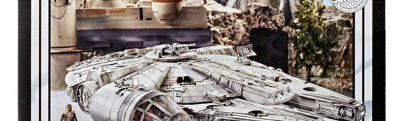 HASBRO – Star Wars The Vintage Collection : Faucon Millenium Galaxy's Edge disponible en France