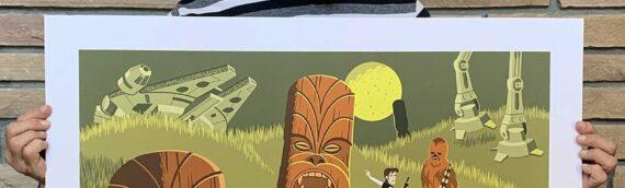 SHAG & GeekiTiki – Les artworks Star Wars Exclusif du SDCC 2020