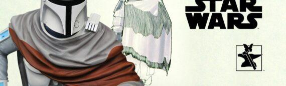 Gentle Giant – SDCC2020 : Le buste de Boba Fett concept Mcquarrie