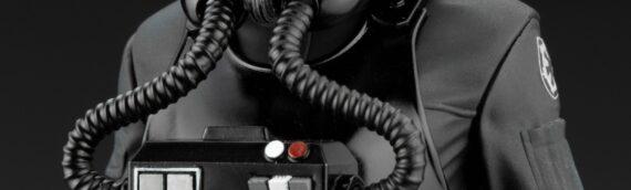 Kotobukiya – Artfx+ : En exclusivité sur Amazon, Le pilote TIE accompagné de la Mouse Droide MS6