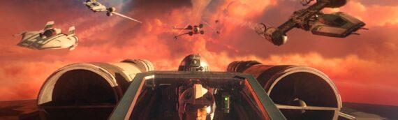 Star Wars en Direct – Gamers – Dévoilement de Star Wars Squadrons