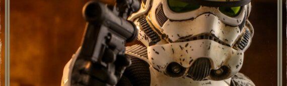 Hot Toys : Photo de prodution finale de leur figurine du Stormtooper vu dans The Mandalorian