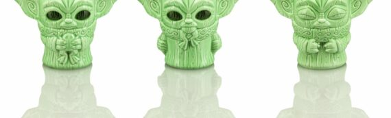 SDCC2020 – Geeki Tikis Star Wars : Un set de 3 mini verres The Child