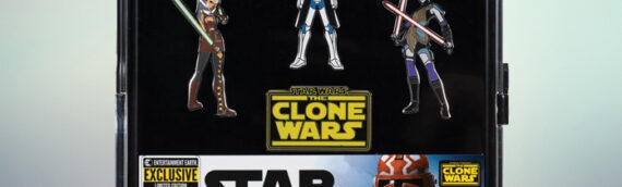 "Entertainment Earth – SDCC2020 : Set de Pin's ""The Clone Wars"""
