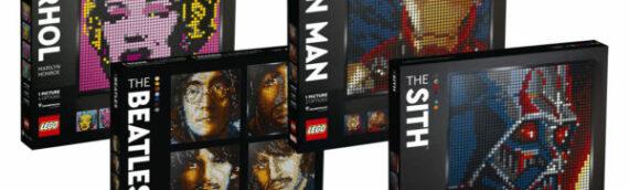 LEGO – Nouvelle gamme LEGO Art sets STAR WARS, Marvel, et d'autres