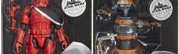 HASBRO – Star Wars : Galaxy Edge The Black Series Figures