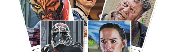 Topps – Star wars Living Set : Les 5 nouveaux artprints