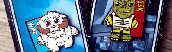 Star Wars Pins –  BSSK et WMP par Fab'D