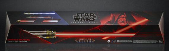 HASBRO – Palpatine Lightsabers Force FX Elite Series