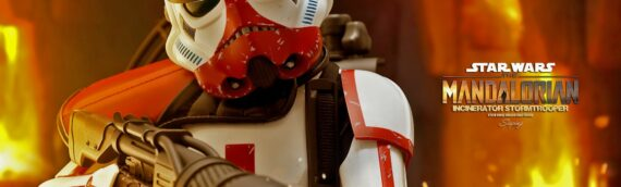 HOT TOYS -The Mandalorian Incinerator Stormtrooper Sixth Scale Figure en version de production