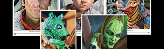 Topps Star wars Living Set : Les 5 nouveaux artprints de la semaine