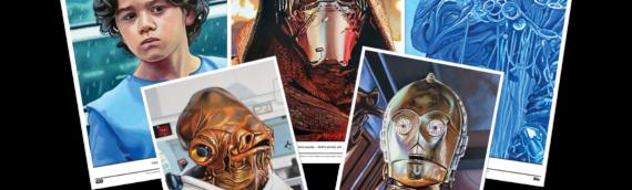 Topps Star wars Living Set : Plus que 3 Artprints disponibles sur 5  pour cette nouvelle semaine.