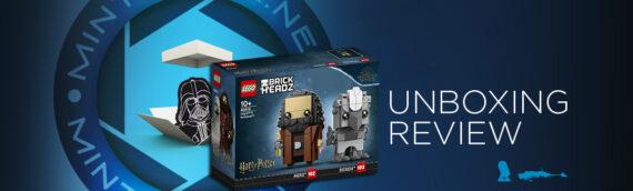 [Mintinbox Open the Box] LEGO Harry Potter BrickHeadz 40412 Hagrid & Buckbeak
