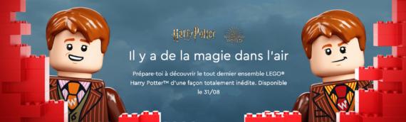 LEGO Harry Potter – Un premier teaser pour le set géant 75978 Diagon Alley