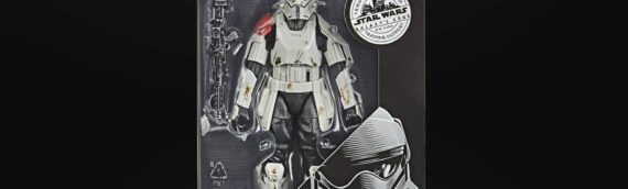 HASBRO – The Black Series Mountain Trooper from Galaxy Edge