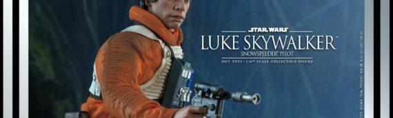Hot Toys : Le Luke snowspeeder Pilot ESB en précommande