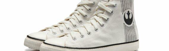 "PO-ZU : Les sneakers montantes ""Rebellion"" disponible en blanc"