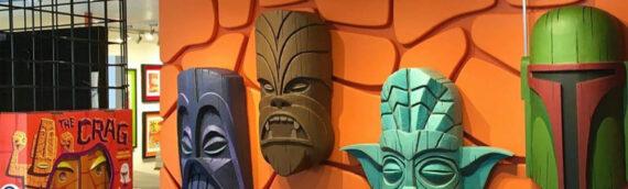 Les créations de Tom Spina pour la collection Star Wars Shag Geeki Tiki