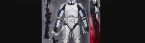 Hasbro – The Black Series : Le Clonetrooper Lieutenant en exclusivité pour les magasins Walgreens