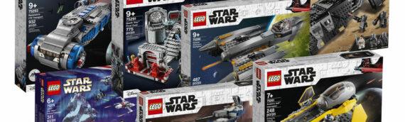 LEGO Star Wars – La deuxième vague de 2020 est disponible