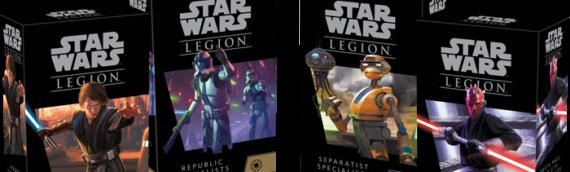 Fantasy Flight Games : 4 nouvelles extensions pour son jeu Legion