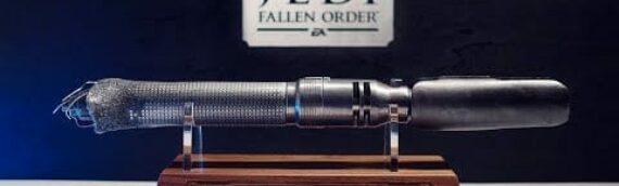 Jedi Fallen Order – Cal Kestis lightsaber Collector Press Kit