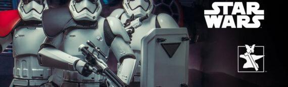 Gentle Giant – Les Mini-Bustes Stormtroopers First Order TFA sont disponibles en précommandes