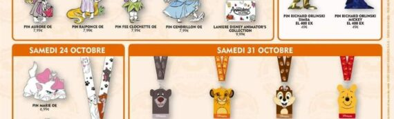 Disneyland Paris –  Nouveaux pins The Child disponible en octobre