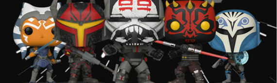 FUNKO POP – Une nouvelle série de figurine spéciale The Clone Wars