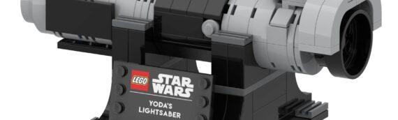 LEGO – Le sabre laser de Yoda bientôt offert pour les membres VIP